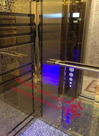 ابعاد کابین آسانسور (3)