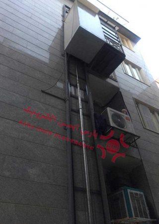 بالابر هیدرولیک ساختمانی