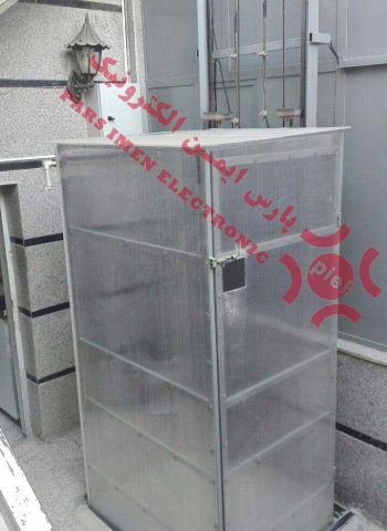 بالابر کششی با کابین پوشش پلی کربنات شفاف